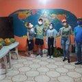 Joselyn, Mildred, Norberto, Maria Jose y Luis.